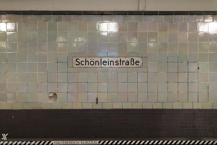 u8 schönleinstrasse in Berlin