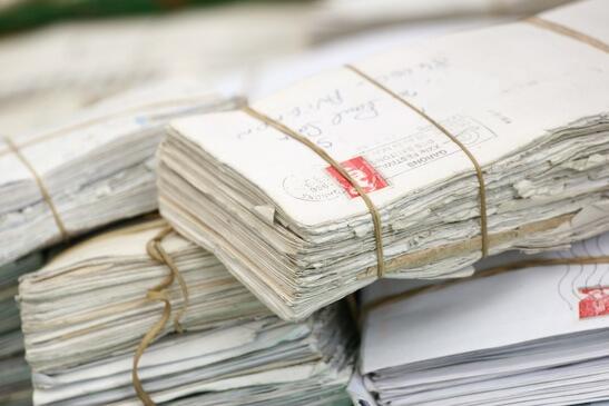 Alte Briefe vom Ex-Freund